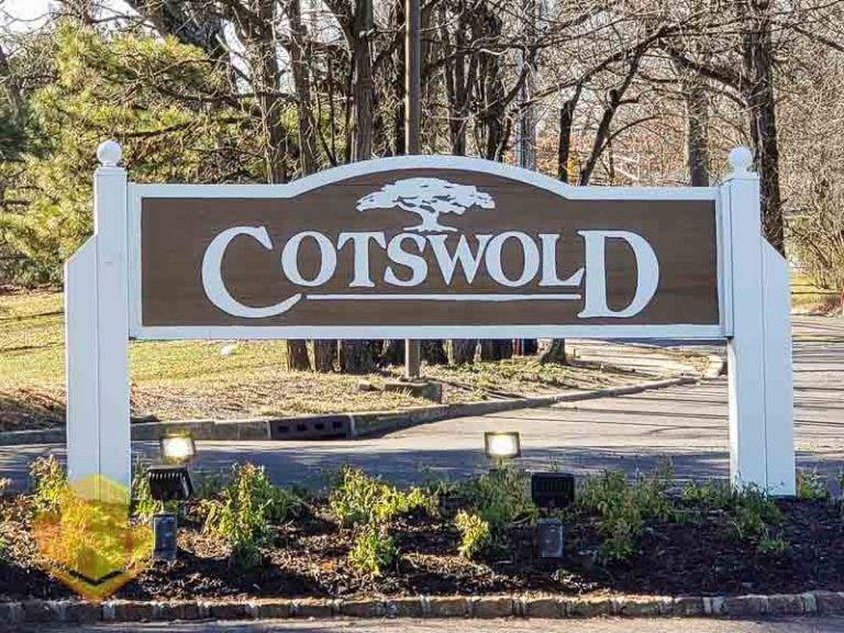 Cotswold on the Green Sign