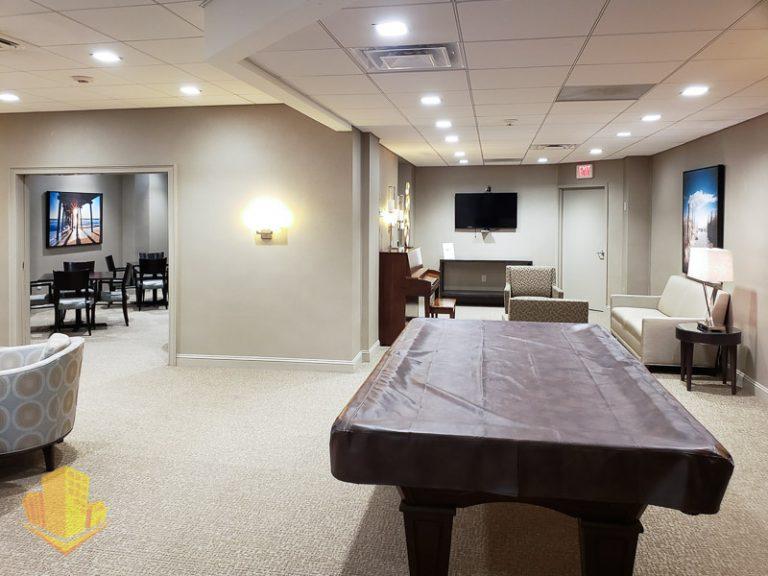 Channel Club Recreation Room