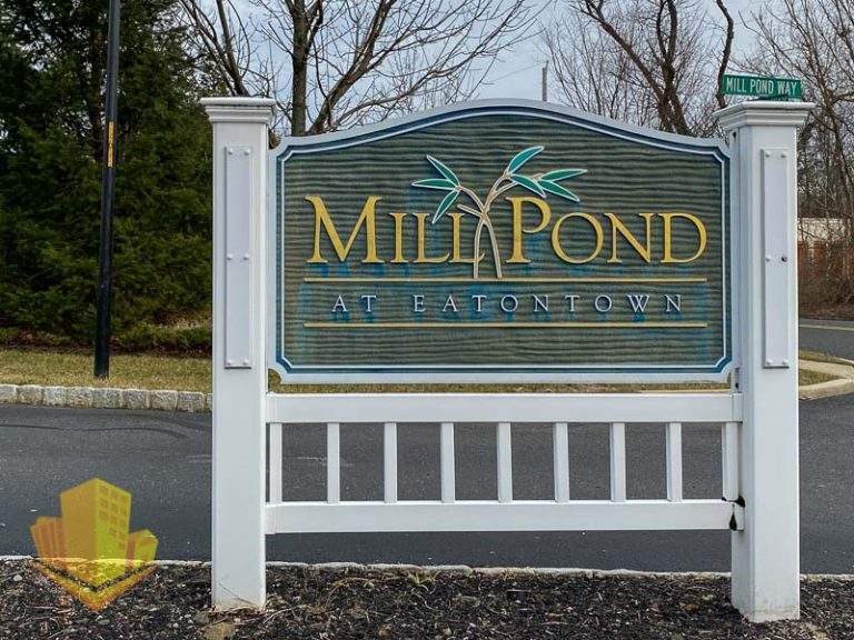 Mill Pond Eatontown Sign