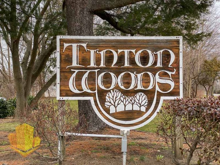 Tinton Woods Sign