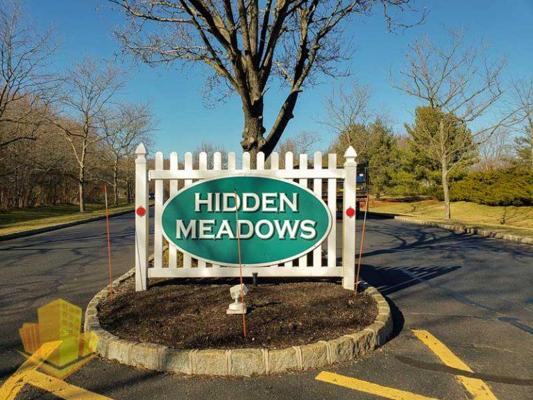 Hidden Meadows Entrance Sign