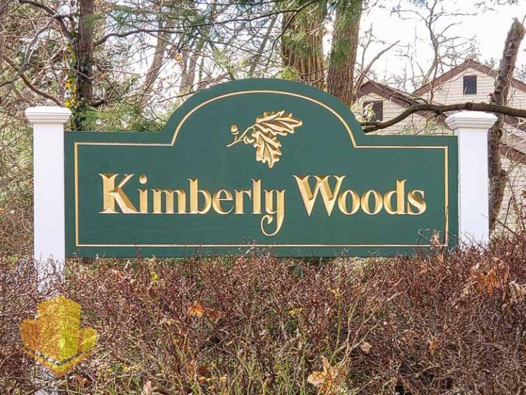Kimberly Woods Sign