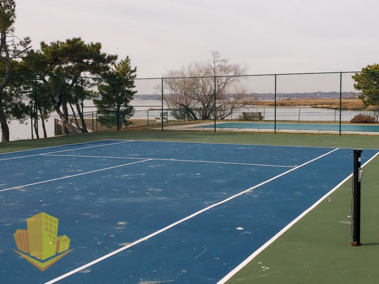 Breakwater Cove Tennis Court
