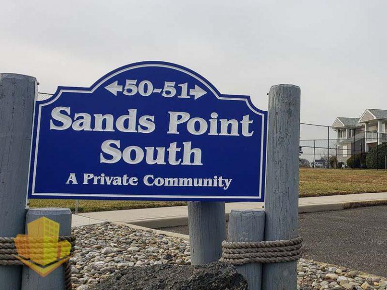 Sands Point South Entrance Sign