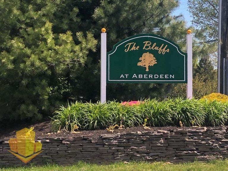 The Bluffs at Aberdeen Sign