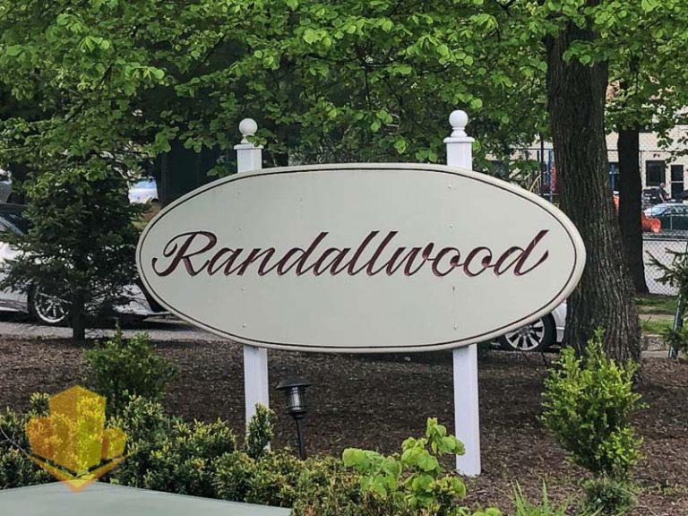 Randallwood Entrance Sign