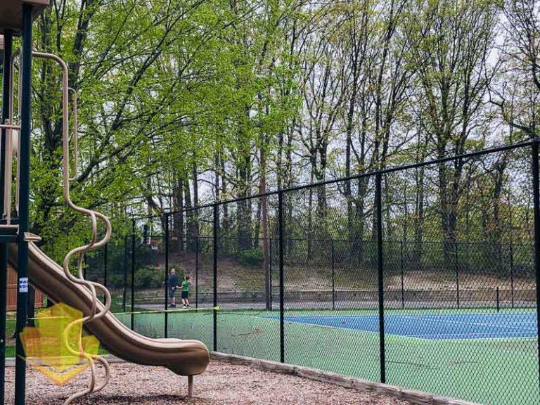 Wyndham Place Basketball Court