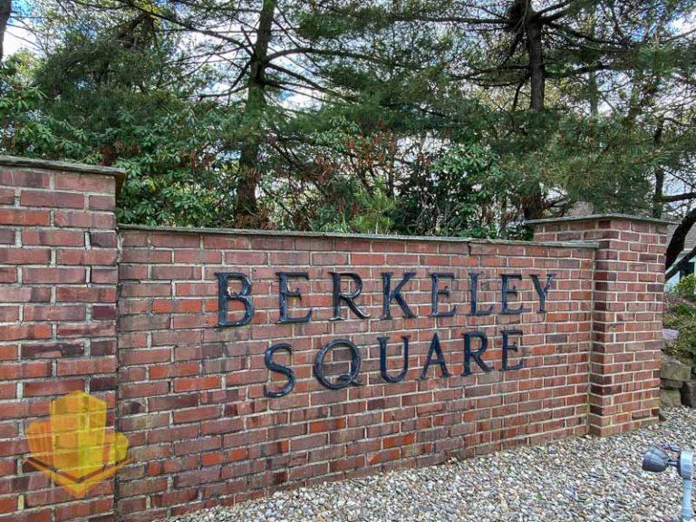 Berkeley Square Entrance Sign