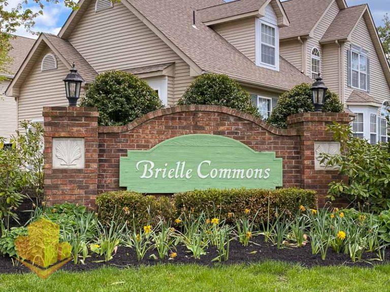 Brielle Commons Entrance Sign
