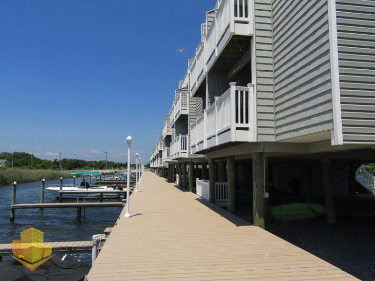 Boat Slips next to Morning Harbor Townhouses