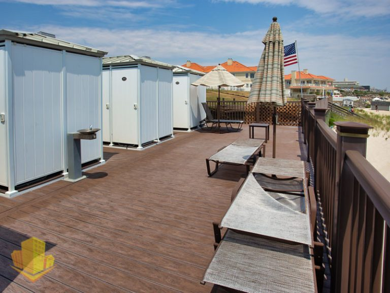 Beach Cabanas for Harbour Mansion Residents