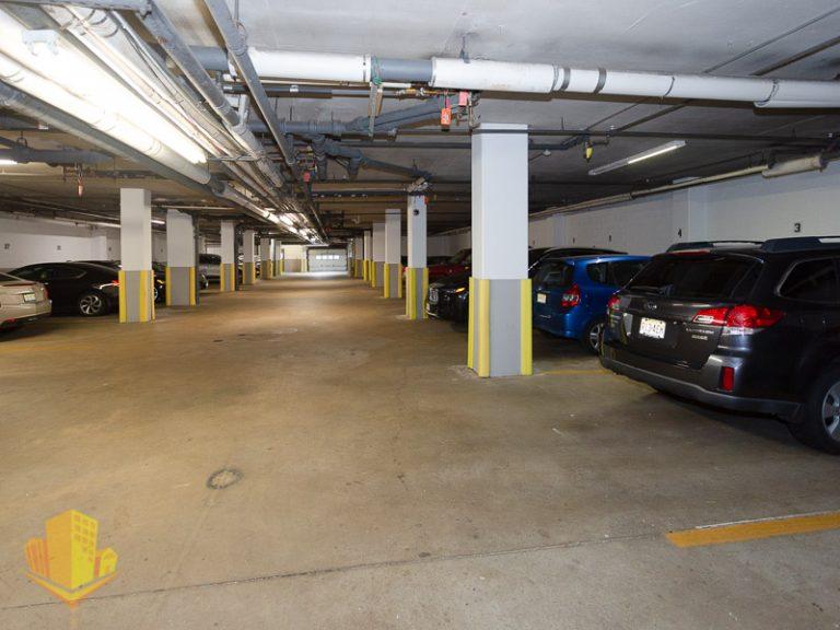 Parking Garage at Harbour Mansion