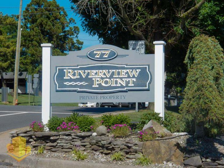 Riverview Point Entrance Sign