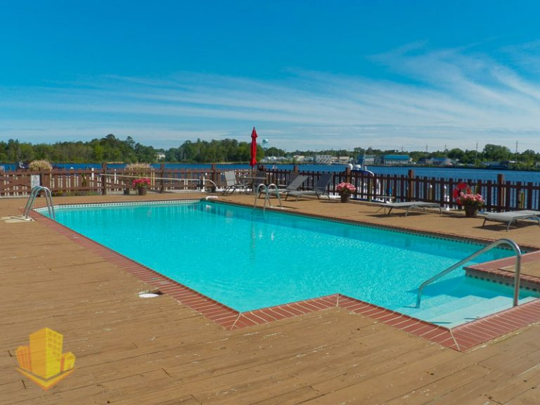 Outdoor Pool at Riverview Point