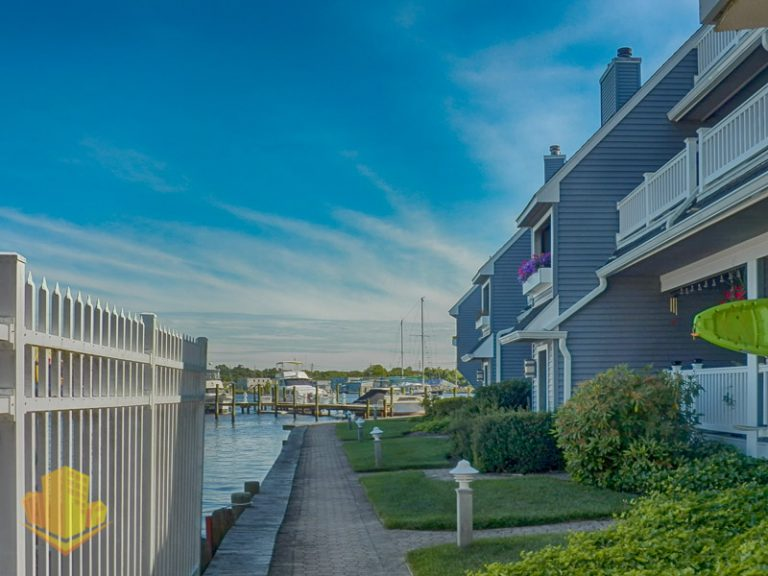 Waterfront at Spinnakers Cove