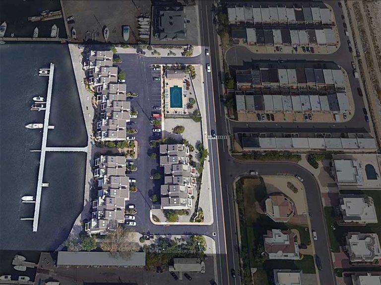 Aerial View of Chris Landing