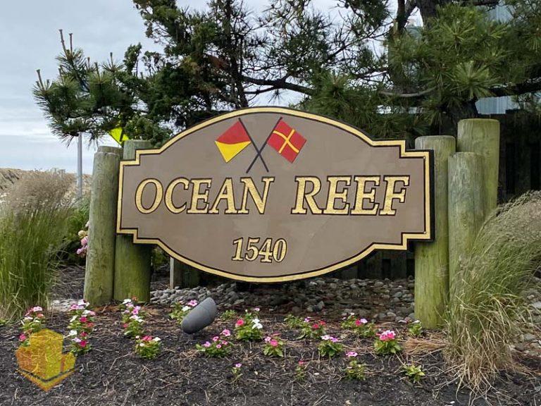 Ocean Reef Entrance Sign