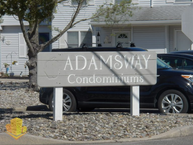 Adams Way Entrance Sign