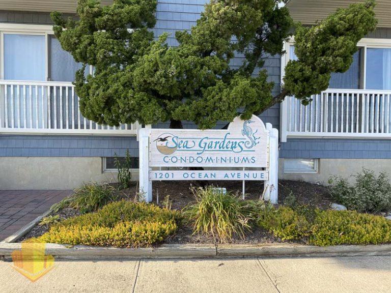 Sea Gardens Sign